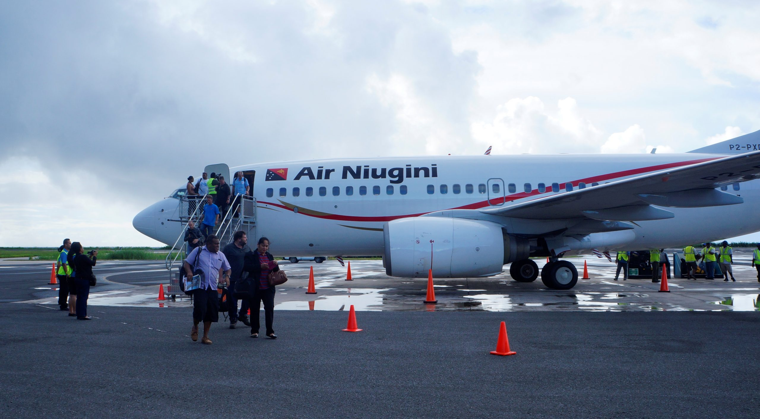 Air Niugini Operates Charter Flight To Repatriate Citizens In Time For Christmas