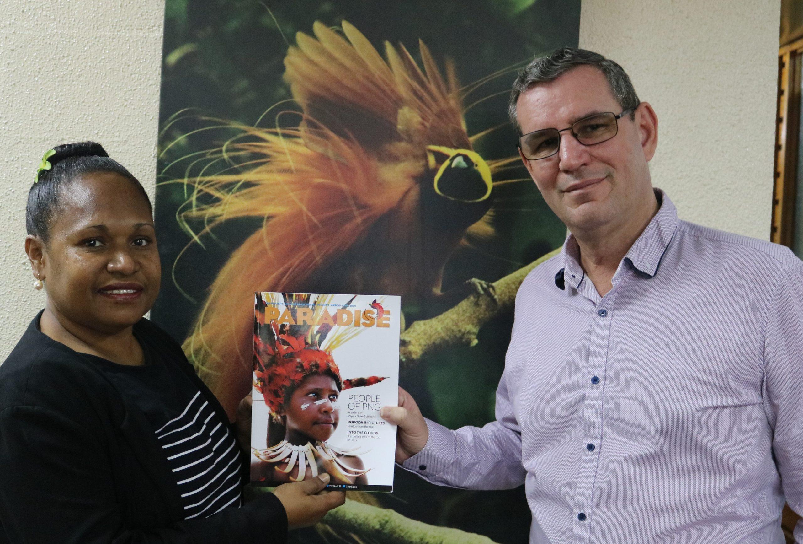 Air Niugini's Paradise Magazine Wins World Travel Award
