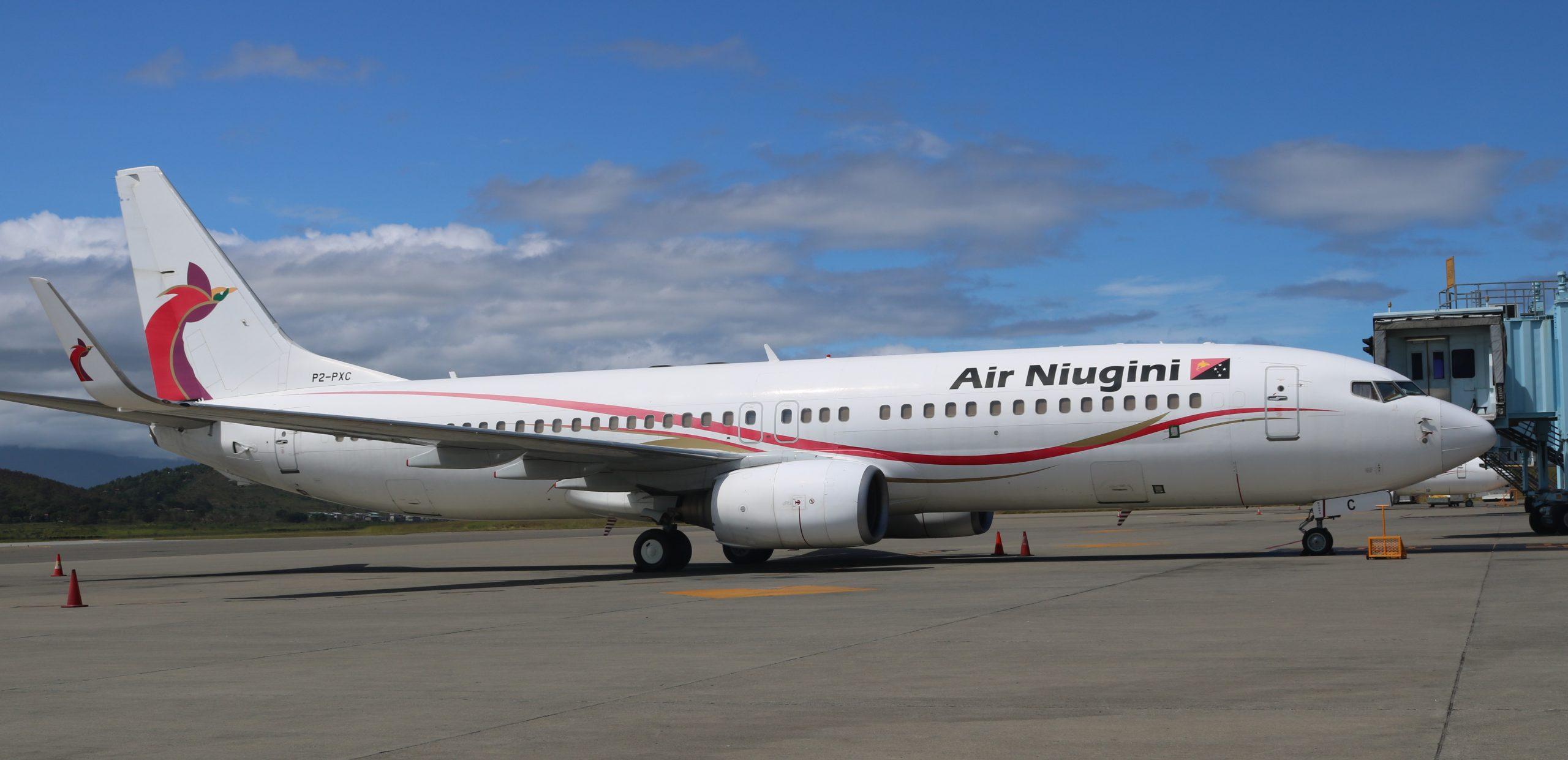 Air Niugini Upgrades Gurney Flights To Larger Boeing 737 Aircraft
