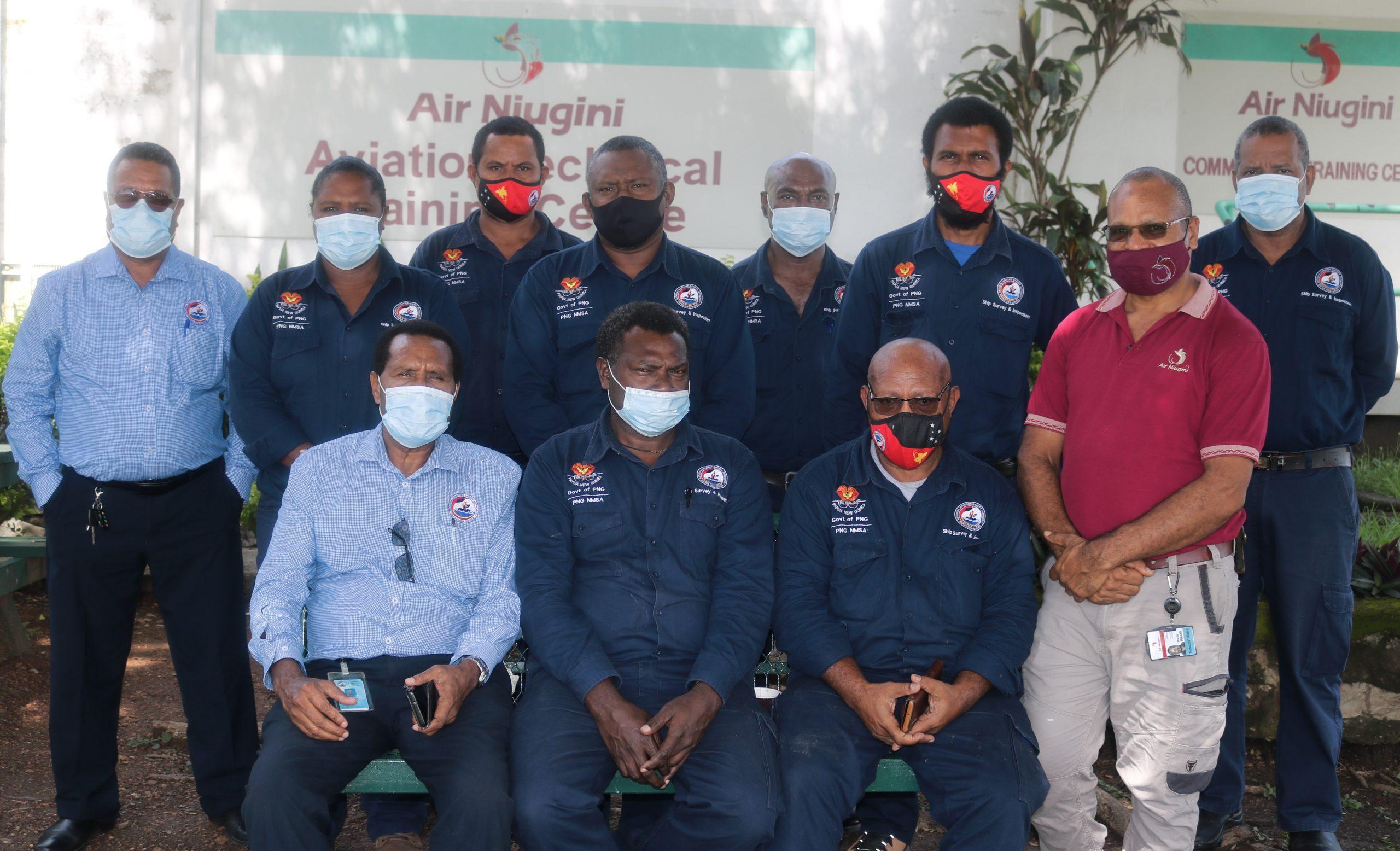 AIR NIUGINI CONDUCTS TRAINING ON INTERNATIONAL  MARITIME DANGEROUS GOODS FOR NMSA