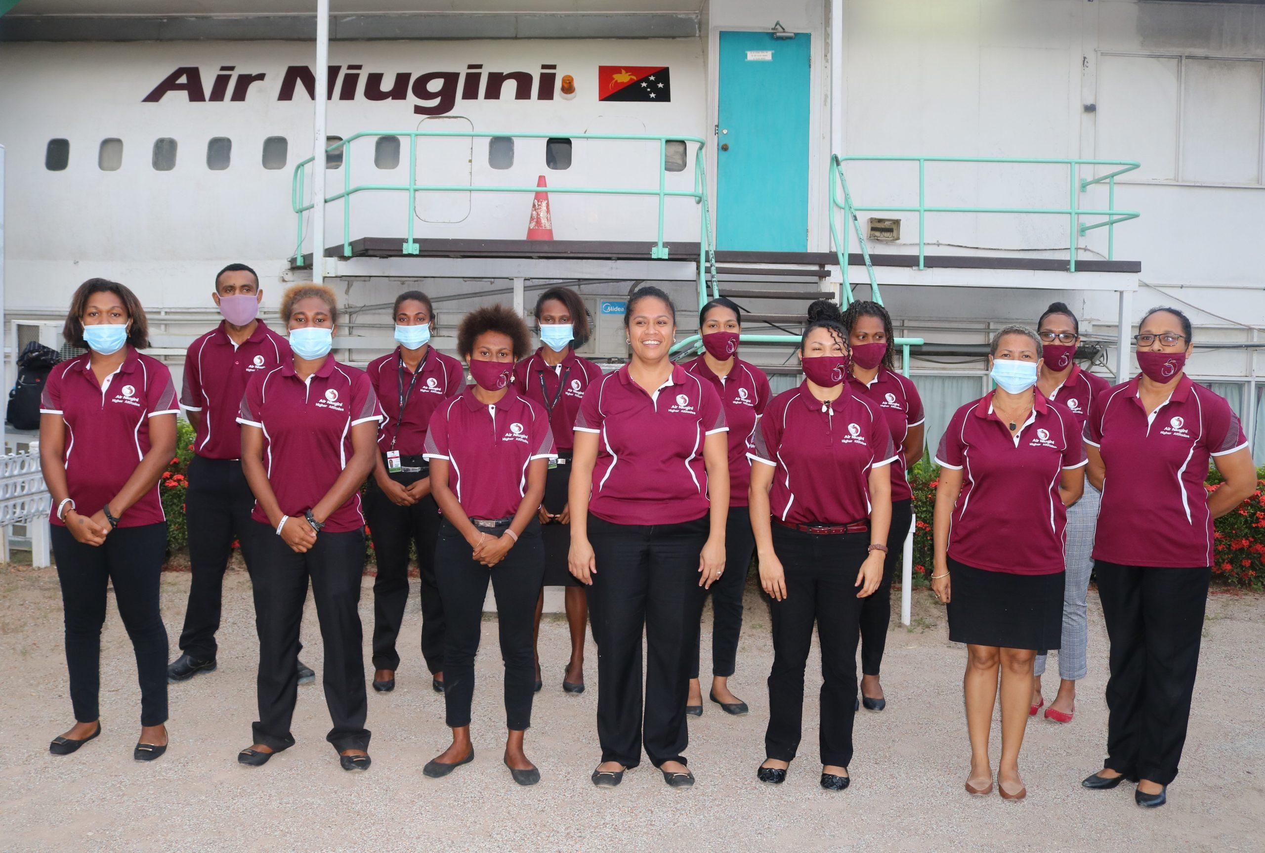 Air Niugini Trains New Travel Consultants
